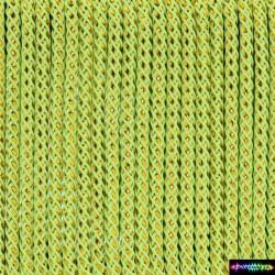 12 Meter Polyesgold 3 mm - Neongrün