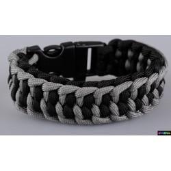 Armband Res schwarz- graphitgrau