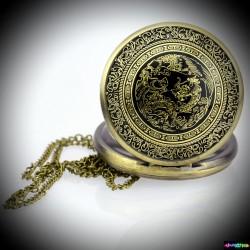 Der goldene Drache Taschenuhr / 4