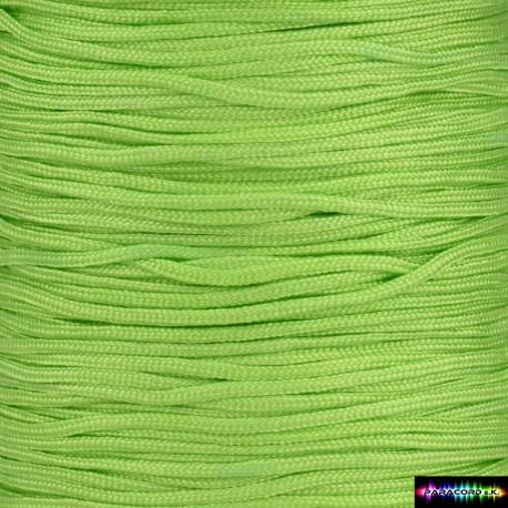 Nylon Kumihcord 1,5 mm Neongrün