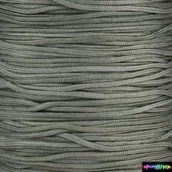 Nylon Kumihcord 1,5 mm Metallgrau