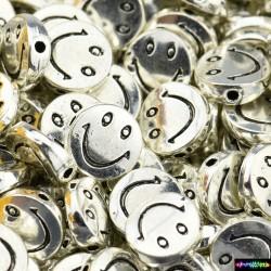 Smile Tibet Charms Beads aus Metall