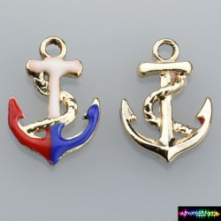 Beads Charms aus Metall - Anker-