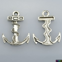 Beads Charms aus Metall - Anker -