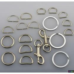 Verschlüsse aus Metall Hund - Set aus 20 St.