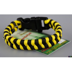Armband Biene - schwarz- gelb