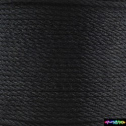 12 Meter Polyescord 2 mm Schwarz