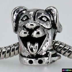 Beads Tibet Charms aus Metall - Hund -