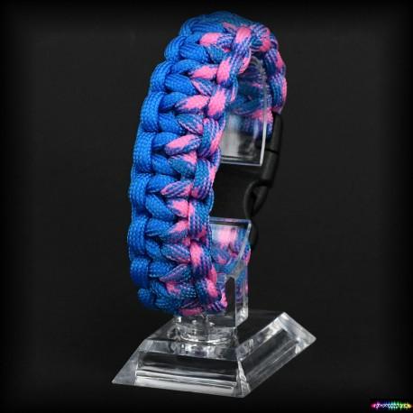 Armband Wazanie - Azure - Sky Pink