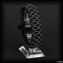 Armband Basic - Schwarz- W36 Wax