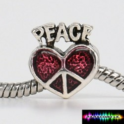 Zylinder Tibet Charms - Peace -