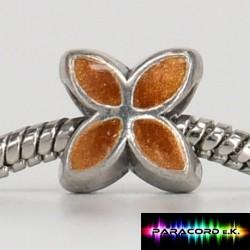 Beads Tibet Charms aus Metall - Klee -