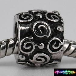 Zylinder Tibet Charms Beads