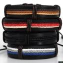 Paracord ® Armband aus echtes Leder