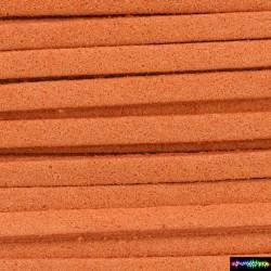 Coral - Wildleder - Velourslederschnur / 37