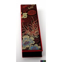 Geschenk-Verpackung Sacura aus schwarzer Samt
