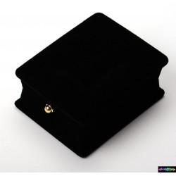 Geschenk-Verpackung Nacht aus schwarzer Samt