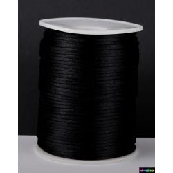 Nylon Cord 2,5 mm schwarz