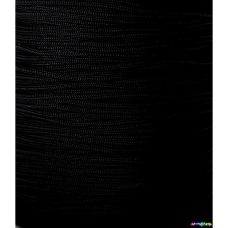 Nylon Micro Cord 1 mm schwarz