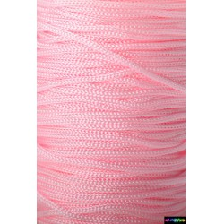 Nylon Micro Cord 1 mm Pink
