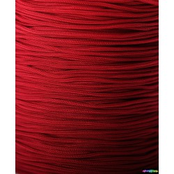 Nylon Micro Cord 1 mm Blutrot