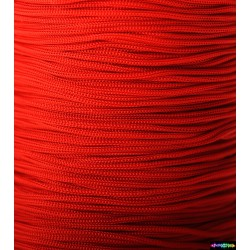 Nylon Micro Cord 1 mm Rot