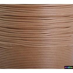 Wax Cord 1 mm Beige