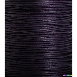 Wax Cord 1 mm Dunkellila